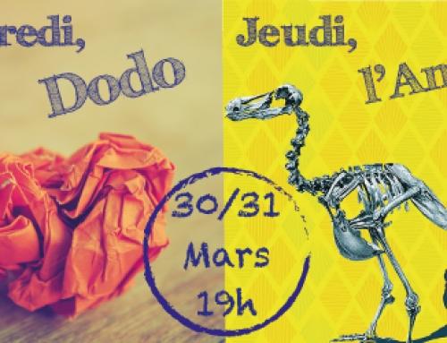 Mercredi: Dodo – Jeudi: L'Amour
