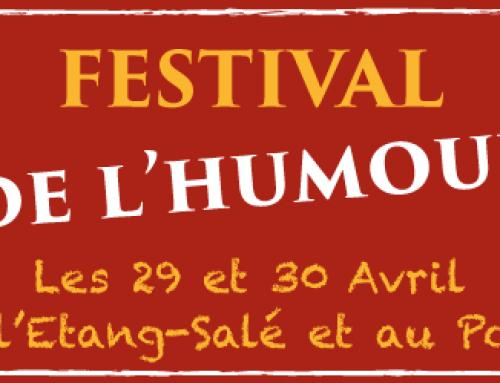 Festival de l'Humour – 29 et 30 Avril !